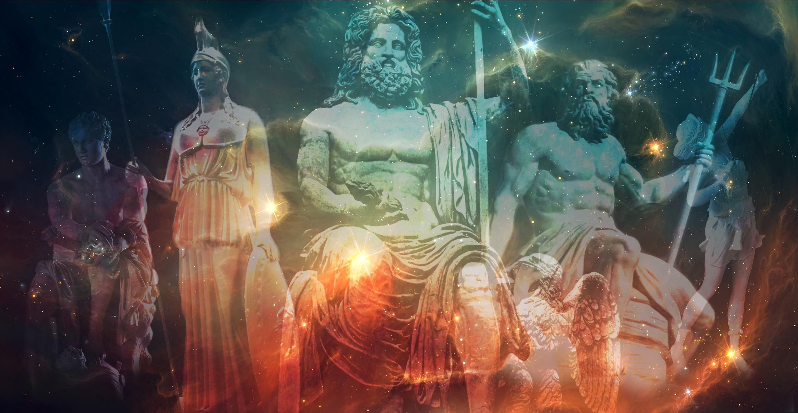 Griechische Götter und Göttinnen