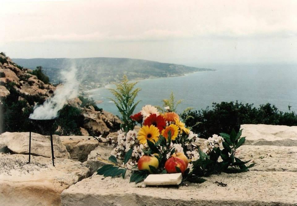 Hellenische Hieropraxie, Chios, Griechenland