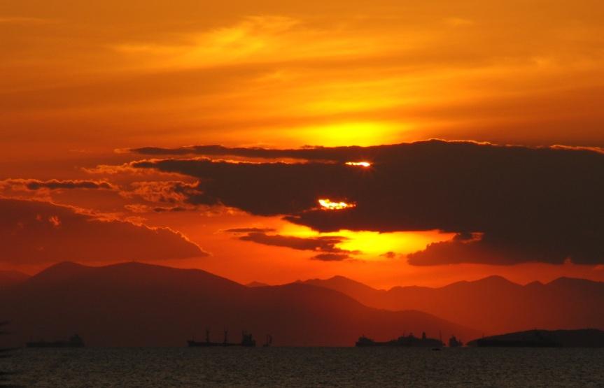 Sonnenuntergang Athen