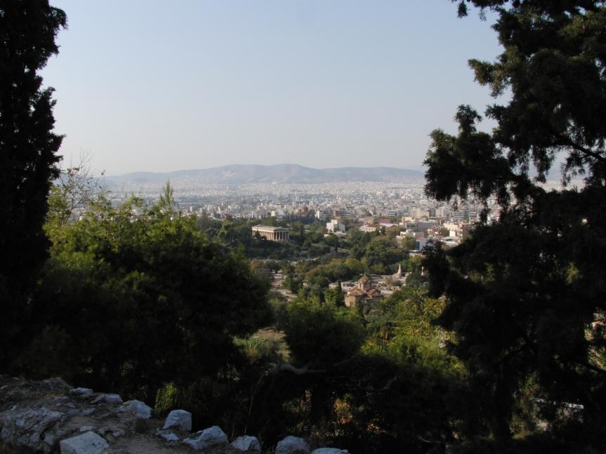 Heiligtum des Hephaistos Το ιερό του Ηφαίστου