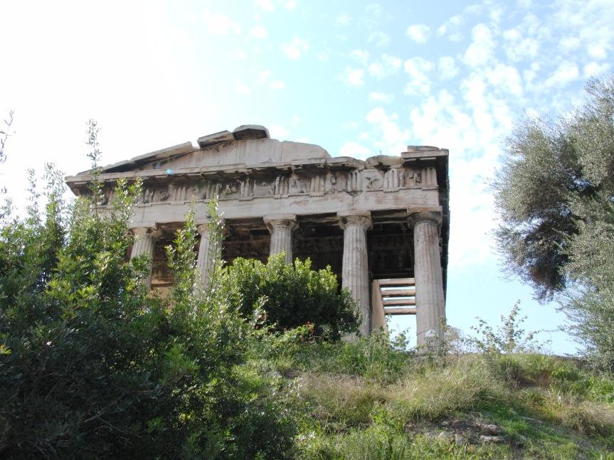 Tempel des Hephaistos in Athen , Ναός του Ηφαίστου