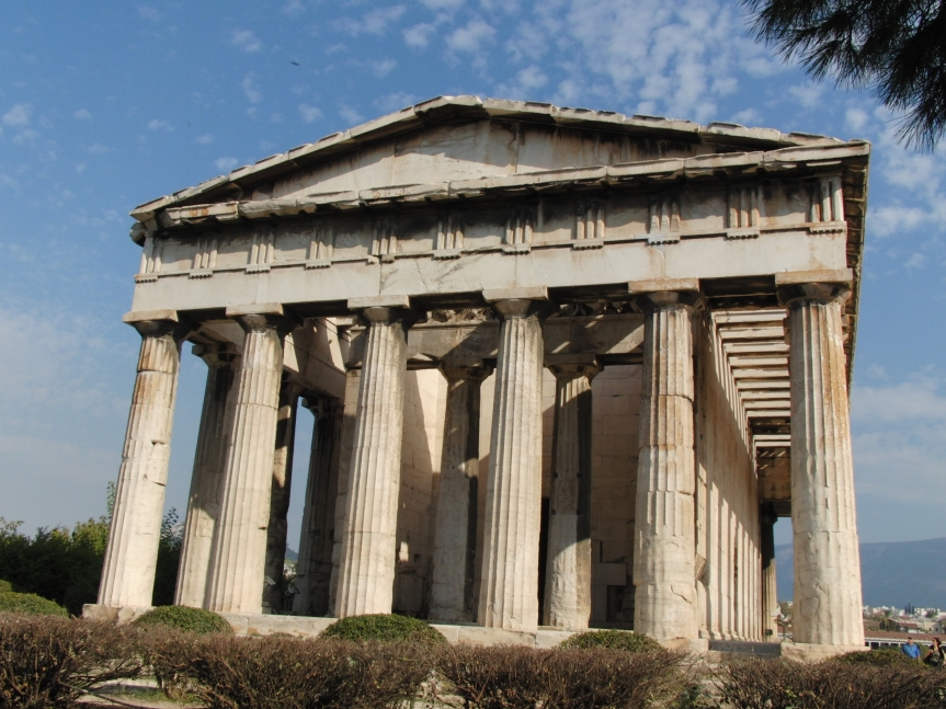 Tempel des Hephaistos Ο Ναός του Ηφαίστου στην Αθήνα