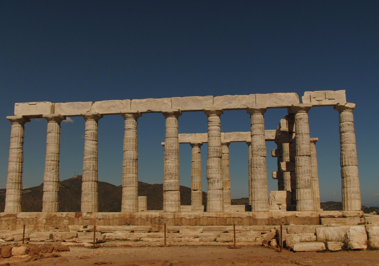 Tempel des Poseidon, Kap Sounion, Athen