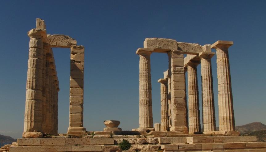 Tempel des Poseidon Ναός του Ποσειδώνα