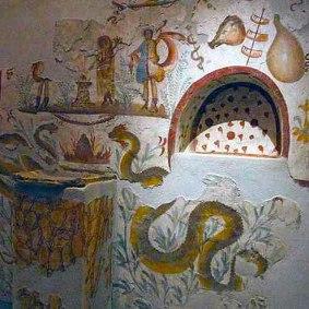Παράδειγμα από Lararia 1 Οικιακός βωμός της ύστερης αρχαιότητας