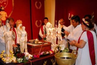 Der YSEE begeht das Fest der Charisia-Aphrodisia in Athen.