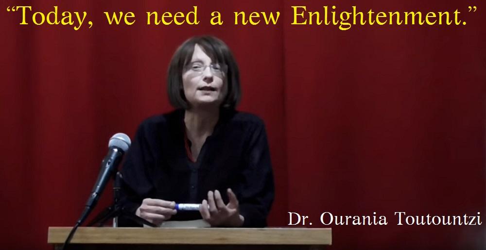 Hellenic sociologist Dr. Ourania Toutountzi ENLI