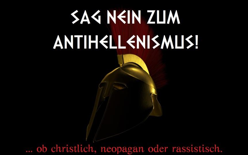 Nein zum Antihellenismus