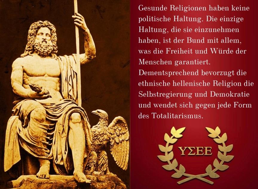 Politische Haltung Hellenismos